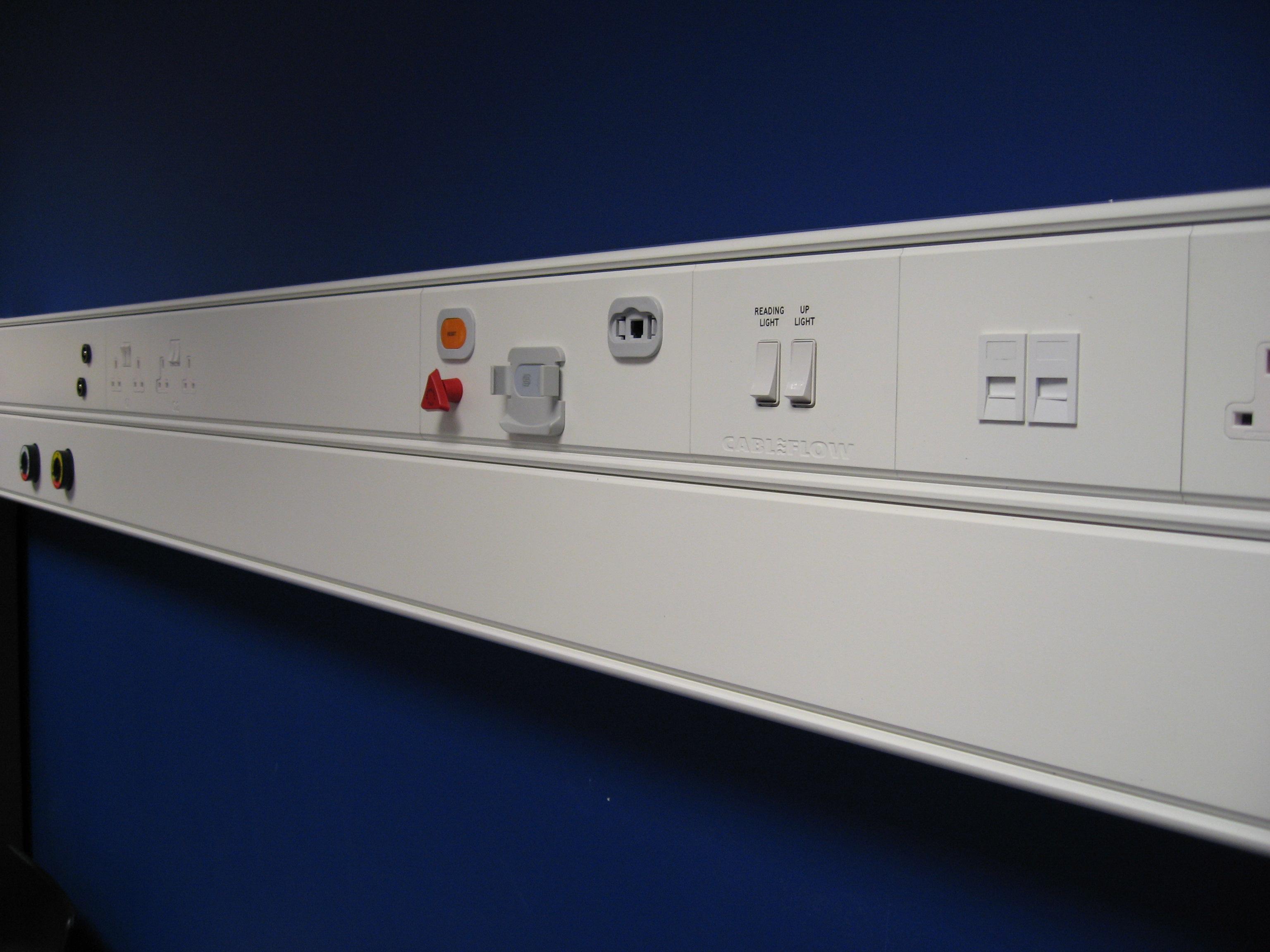 Medisys - Bedhead Module Medical Trunking