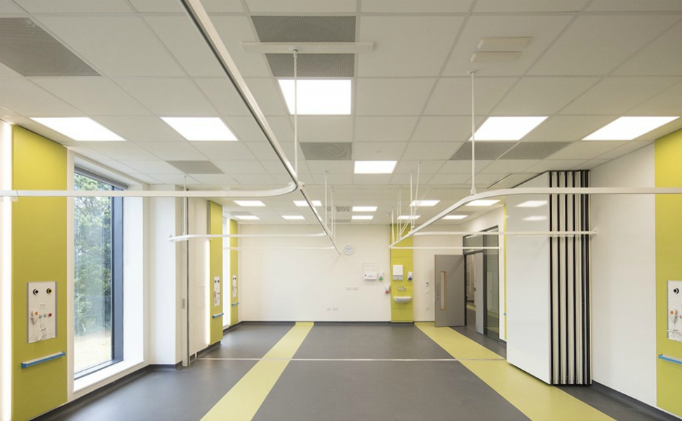 Quadram Institute Norwich | Medical Supply Unit | Bedhead Trunking System | Medical Joinery | Medical Furniture | Nurse Call System | Medical Gas | Healthcare Bedhead | Bedhead Module | Healthcare Luminaire