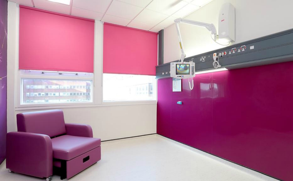 St Georges Hospital Tooting | Medical Supply Unit | Bedhead Trunking System | Medical Joinery | Medical Furniture | Nurse Call System | Medical Gas | Healthcare Bedhead | Bedhead Module | Healthcare Luminaire